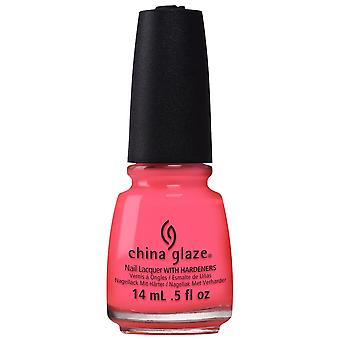 China Glaze Electric Nights Nail Polish Collection 2015 - Red-y To Rave 14mL (82603)