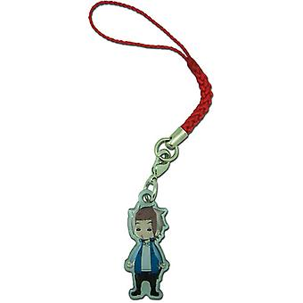 Cell Phone Charm - World Trigger - SD Yuichi Metal New ge17359