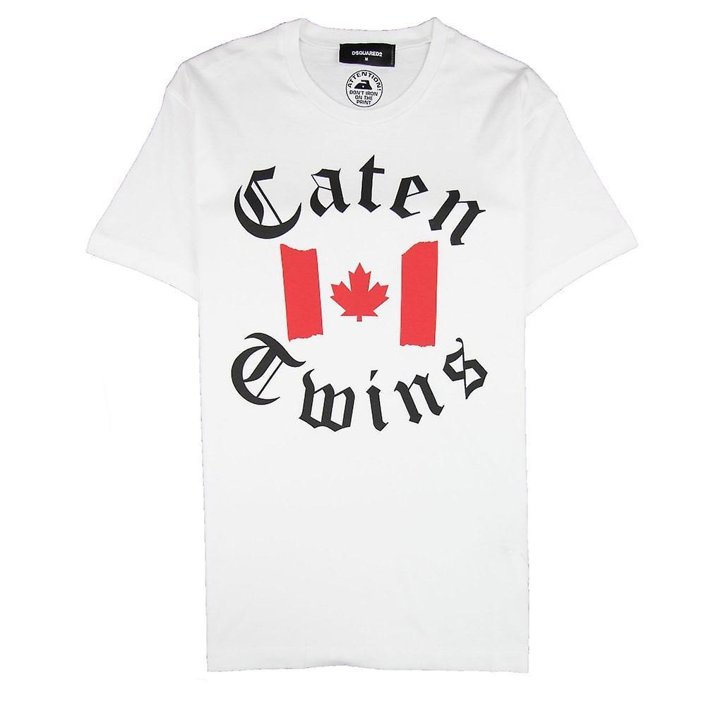 Dsquared2 Caten Twins T-Shirt White
