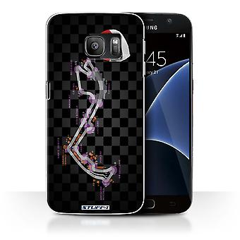 STUFF4 Case/Cover for Samsung Galaxy S7/G930/Monaco/Monte Carlo/2014 F1 Track