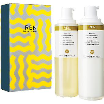 REN Neroli and Grapefruit Duo