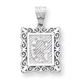 Charm in argento Sterling iniziale G
