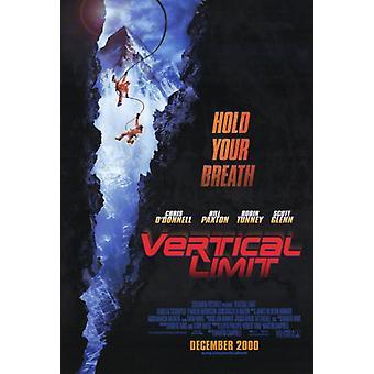 Stampa del manifesto del film Vertical Limit (27 x 40)