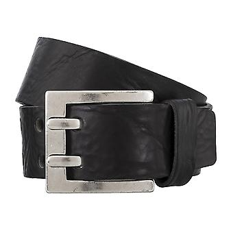 BERND GÖTZ belts men's belts leather belt walking leather black 4839