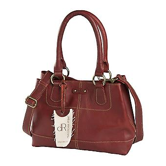 Dr. Waxi Amsterdam Hand/Schulter Tasche rot