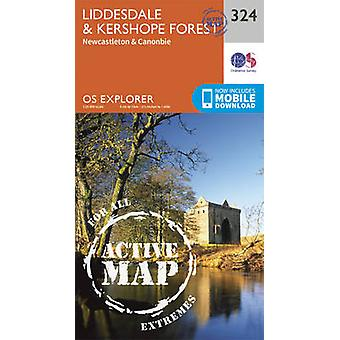 Liddesdale and Kershope Forest by Ordnance Survey
