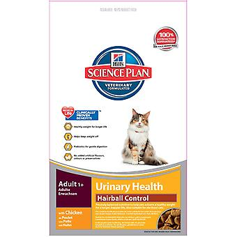 Hill's Science Plan Feline Adult Urinary Care Hairball Control 300g (Pack of 6)
