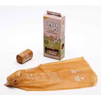 Tasker på bestyrelsen grønne Pups Refill rulle 60 tasker (4 x 15)