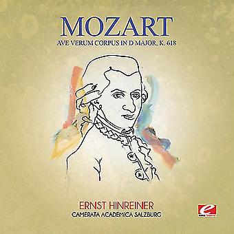 Mozart - Ave Verum Corpus w D głównych K. 618 USA import