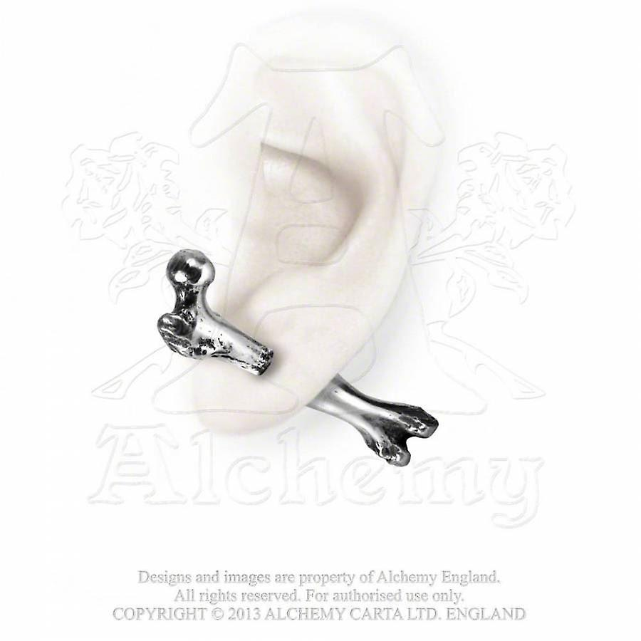 Alchemy Pewter Earring Femur Bone