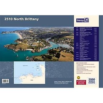 Imray Chart Pack 2510: North Brittany (2000 Series) (Paperback) by Imray
