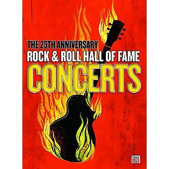 25 års jubilæum & Roll Hall of Fame rockkoncerter [DVD] USA importerer
