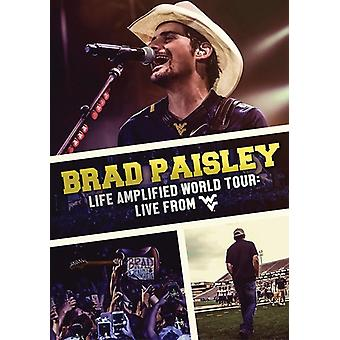 Brad Paisley - liv forstærket World Tour: Live fra Wvu [DVD] USA import
