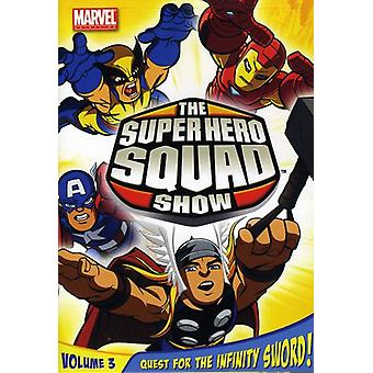 Super Hero Squad Show Vol. 3-Quest for the Infinity Sword [DVD] USA import