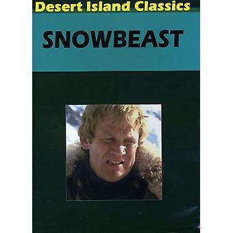 Snowbeast (1977) [DVD] Stati Uniti importare