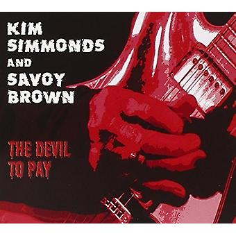 Kim Simmonds & Savoy Brown - Devil to Pay [CD] USA import