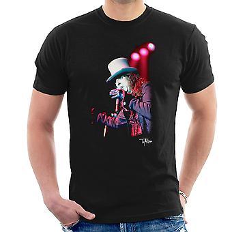 Alice Cooper Top Hat Performing Men's T-Shirt