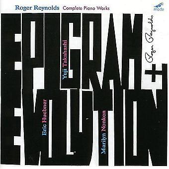 Larsens Reynolds - Epigram og Evolution: komplet klaver værker af Roger Reynolds [CD] USA import