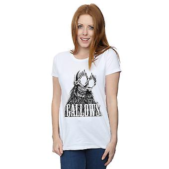 Gallows Women's Black Skull T-Shirt