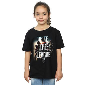 DC Comics ragazze Justice League film uniscono la League t-shirt