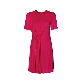 Givenchy women's BW201J3023675 Fuchsia viscose dress