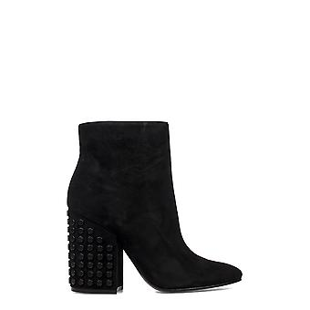Kendall + Kylie women's KKBAKERBLK Black Suede Ankle Boots