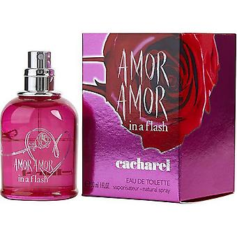 Amor Amor In A Flash By Cacharel Edt Spray 1 Oz