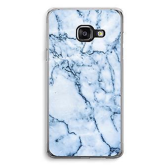 Samsung A3 (2017) Transparent Case - Blue marble