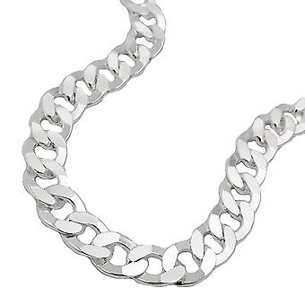 Curb chain 55cm 925 silver necklace