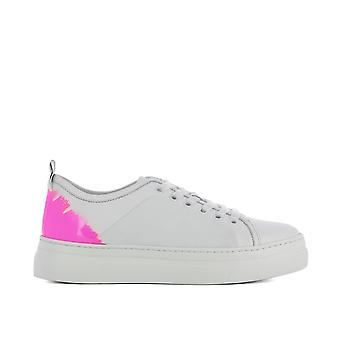 Msgm women's 2441MDS02075 White leather of sneakers