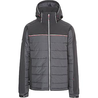 Trespass Mens Drafted Polyester Padded Windproof Softshell Ski Jacket