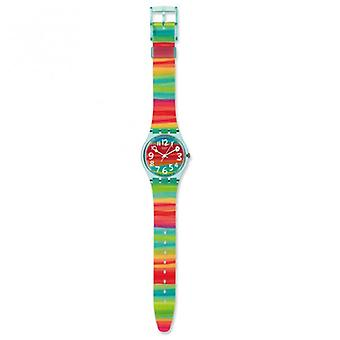Swatch Gs124 Color The Sky Multi-coloured Plastic Watch