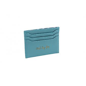 CGB Giftware Willow And Rose Just Say Yes Blue Card Holder Wallet