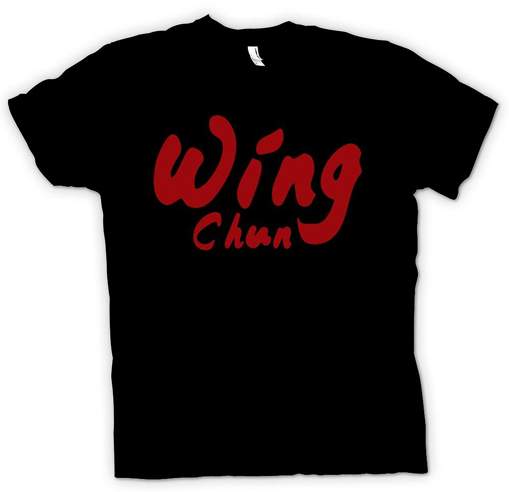 Womens T-shirt - Wing Chun - Martial Art - Slogan