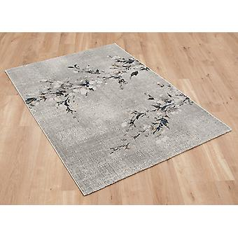 Marbre 37213 052 gris ocre Rectangle tapis tapis modernes