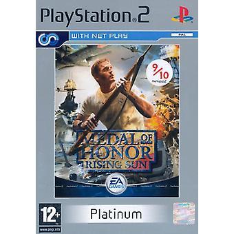 Medal Of Honor Rising Sun Platinum (PS2)