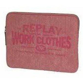 Replay denim Tablet bag light pink for Tablet up to 10.1-inch