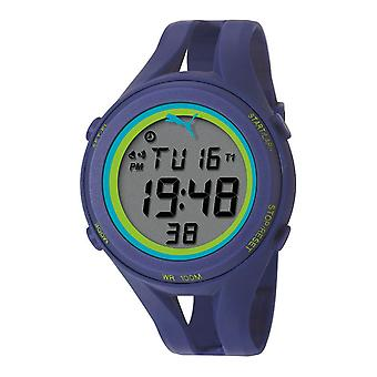 PUMA watch wrist watch mens air III blue digital PU911171004