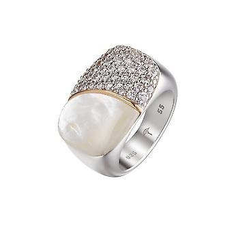 Йоп женщин серебряные кольца циркония Лили JPRG90710A