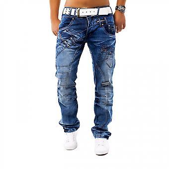 Mænds denim jeans shorts designer autentiske clubwear ødelagt Morpheus