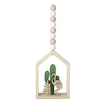 Heaven Sends Flamingo Hanging Decoration Frame