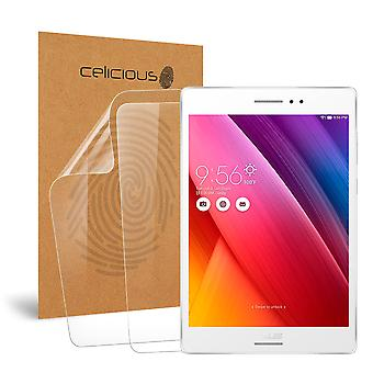 Celicious Vivid Invisible Glossy HD Screen Protector Film Compatible with Asus Zenpad S 8.0 Z580C [Pack of 2]