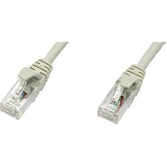 Telegärtner RJ45 redes Cable CAT 5e U/UTP 5 m gris ignífugo
