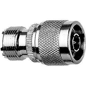 Coaxil adaptador UHF plug socket-N Telegärtner J01043A08321 PC