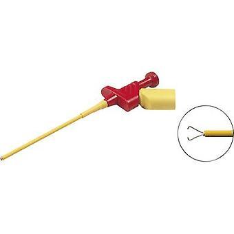 Sécurité bornier de raccordement 4 mm prise connecteur CAT II 300 V rouge SKS Hirschmann KLEPS 250