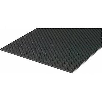 Prepeg carbon fibre Carbotec (L x W) 340 mm x 150 mm 1.5 mm