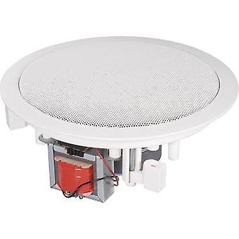 PA versenkt Lautsprecher Renkforce CL-130RT 45 W 100 V White 1 PC