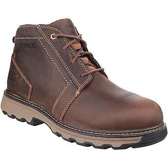 CAT Workwear Mens Parker Lightweight Leather S1P Safety Boots