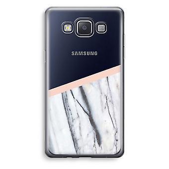 Caja transparente Samsung Galaxy A3 (2015) (Soft) - un toque de melocotón