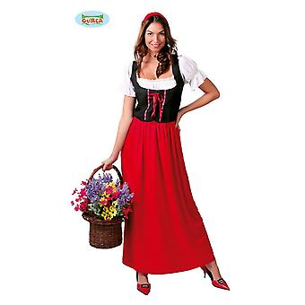Little Red Riding Hood maid medieval maid costume women